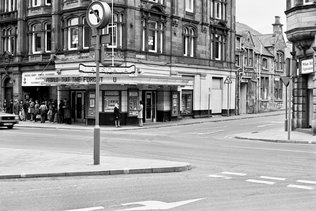 "La Scala, Strother's Lane, Inverness (Image courtesy of www.ambaile.org.uk"")"